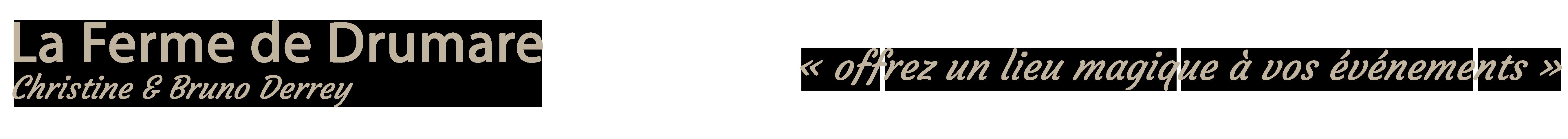 La Ferme de Drumare Logo